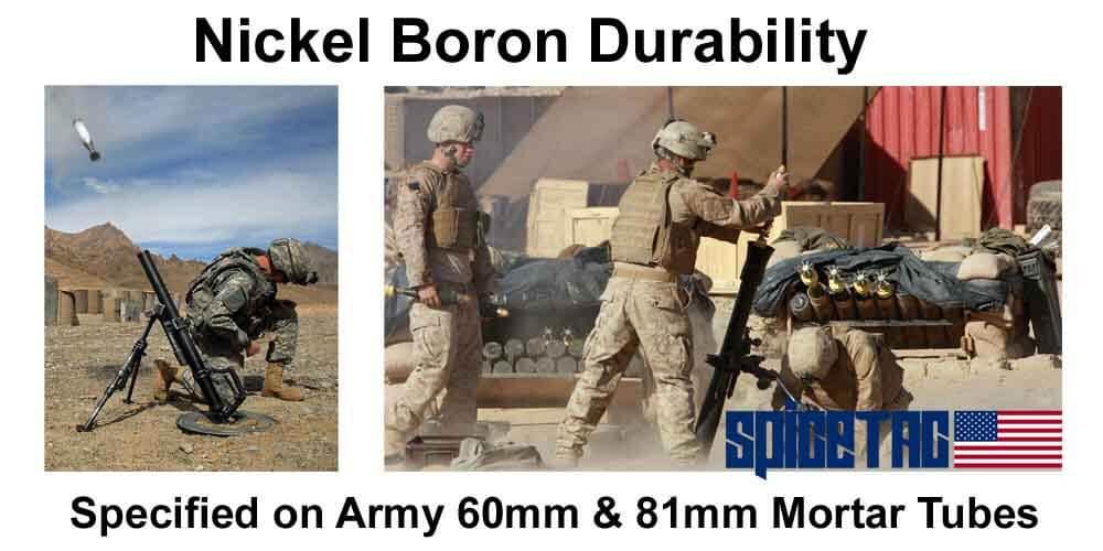 Fail Zero Nickel Boron Durability Proven in Military Conditions