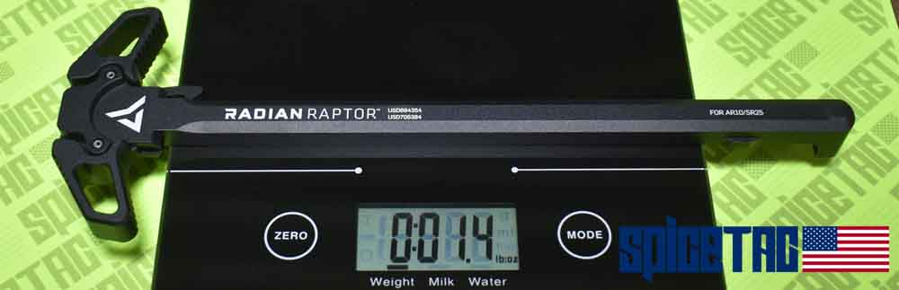 Raptor AR10 Charging Handle Weight