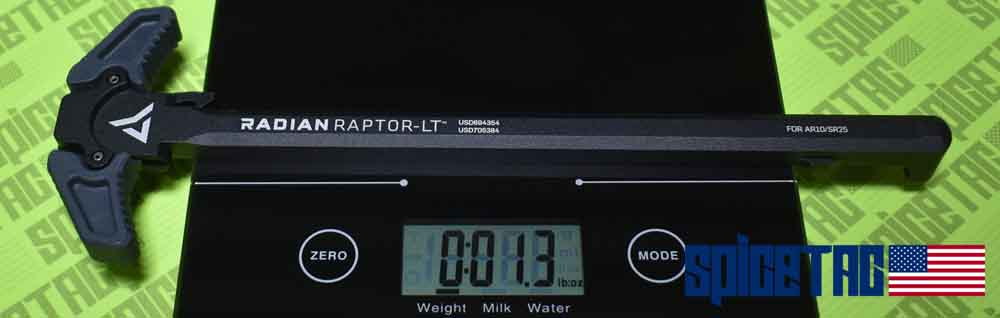 Raptor AR10 LT Charging Handle Weight